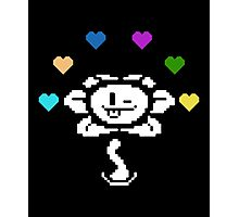 Flowey from Undertale Photographic Print