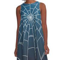 Jolyne Kujo (Blue) A-Line Dress