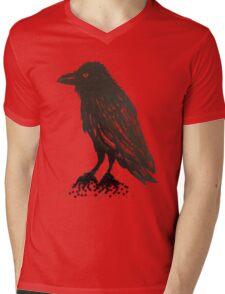 Winged Night Mens V-Neck T-Shirt
