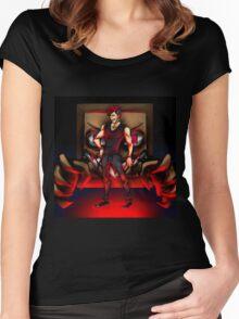 he's near | Darkiplier Ed. [AU] Women's Fitted Scoop T-Shirt