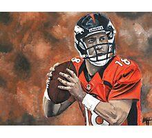 """""""Peyton Manning"""" Broncos  Photographic Print"""