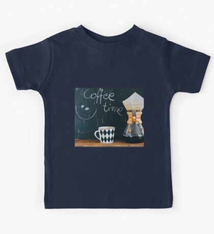 Coffee Time Kids Tee
