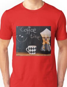 Coffee Time Unisex T-Shirt