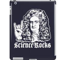 Sir Isaac Newton Science Rocks iPad Case/Skin