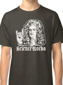 Sir Isaac Newton Science Rocks Classic T-Shirt
