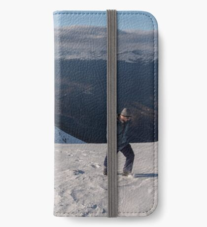 Not-Quite-Winter Hiking on Mount Whistlers iPhone Wallet/Case/Skin