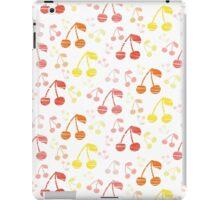 Funny Fresh Cherry Background iPad Case/Skin