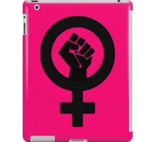 Black Feminist Power Fist iPad Case/Skin