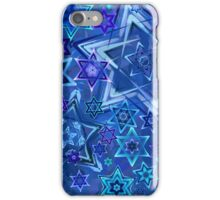 Star of David Hanukkah Night Sky 2 iPhone Case/Skin