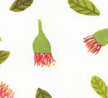 bottle brush pattern Sticker