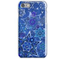 Star of David Hanukkah Night Sky 1 iPhone Case/Skin