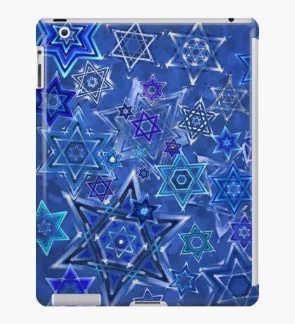 Star of David Hanukkah Night Sky 1 iPad Case/Skin