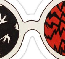 twenty one pilots glasses  Sticker