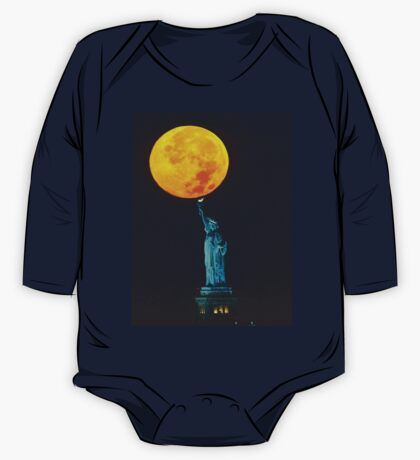 Supermoon 2016 2 One Piece - Long Sleeve