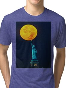 Supermoon 2016 2 Tri-blend T-Shirt
