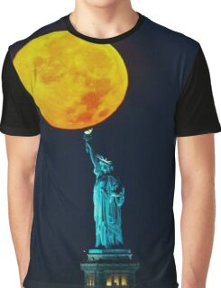 Supermoon 2016 2 Graphic T-Shirt