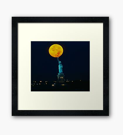 Supermoon 2016 2 Framed Print