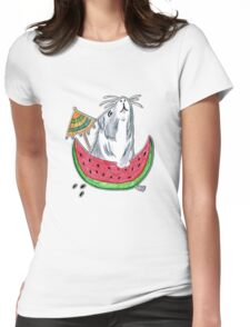 Dinner time! Womens Fitted T-Shirt
