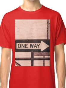 One Way Classic T-Shirt