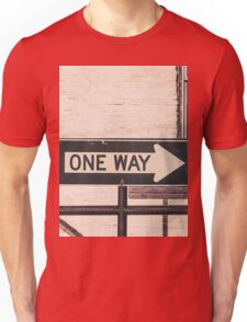 One Way Unisex T-Shirt