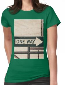 One Way Womens Fitted T-Shirt
