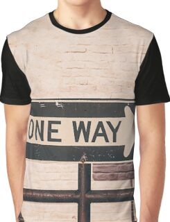 One Way Graphic T-Shirt