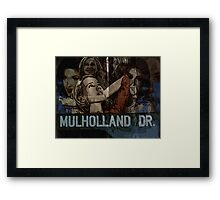 Mulholland Drive Poster Framed Print