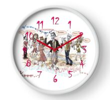 Hungry Zombies Crave Brains Clock