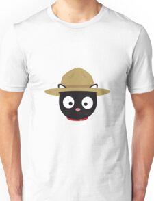 Park ranger cat head Unisex T-Shirt