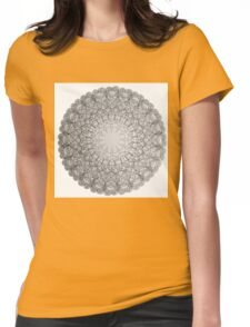 Mandala Inca Womens Fitted T-Shirt