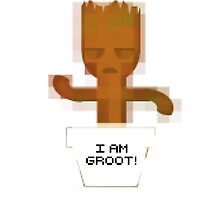 I AM GROOT! 8-bit by timscrivello