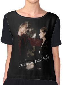 Spike And Buffy - Once More With Feeling Chiffon Top