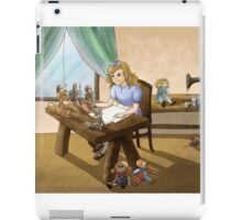 The Little Doll Girl iPad Case/Skin