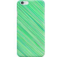Green Grunge Line Pattern on White Background iPhone Case/Skin
