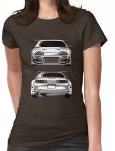Toyota Supra 2JZ Womens Fitted T-Shirt