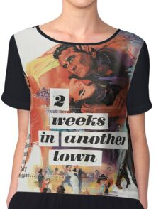 Vintage poster - 2 Weeks in Another Town Chiffon Top