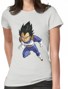 Vegeta DBZ Womens Fitted T-Shirt