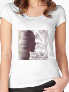 Faith Lehane - The Dark Slayer Women's Fitted Scoop T-Shirt
