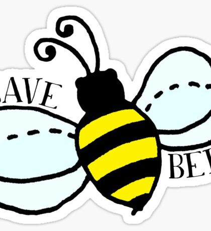 SAVE BEES Sticker