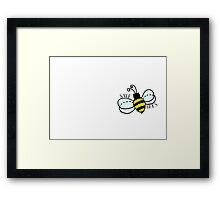 SAVE BEES Framed Print