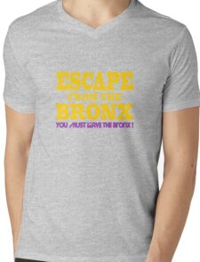 Escape From The Bronx - Leave Now Mens V-Neck T-Shirt