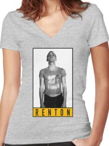 Trainspotting Women's Fitted V-Neck T-Shirt