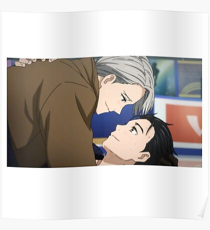 Yuri!!! on Ice - First Kiss Poster
