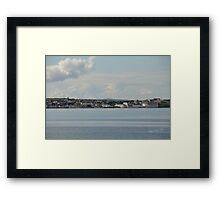 Bowmore, Islay Framed Print