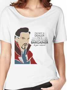 Dr Strange the bargainer Women's Relaxed Fit T-Shirt