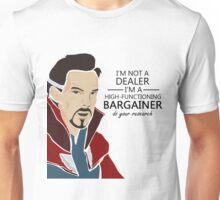 Dr Strange the bargainer Unisex T-Shirt
