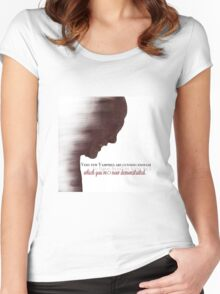 The Master - Buffy Women's Fitted Scoop T-Shirt