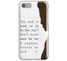 "Daniel ""Oz"" Osborne  iPhone Case/Skin"