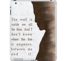 "Daniel ""Oz"" Osborne  iPad Case/Skin"