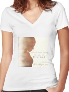 Kendra - The Second Slayer Women's Fitted V-Neck T-Shirt